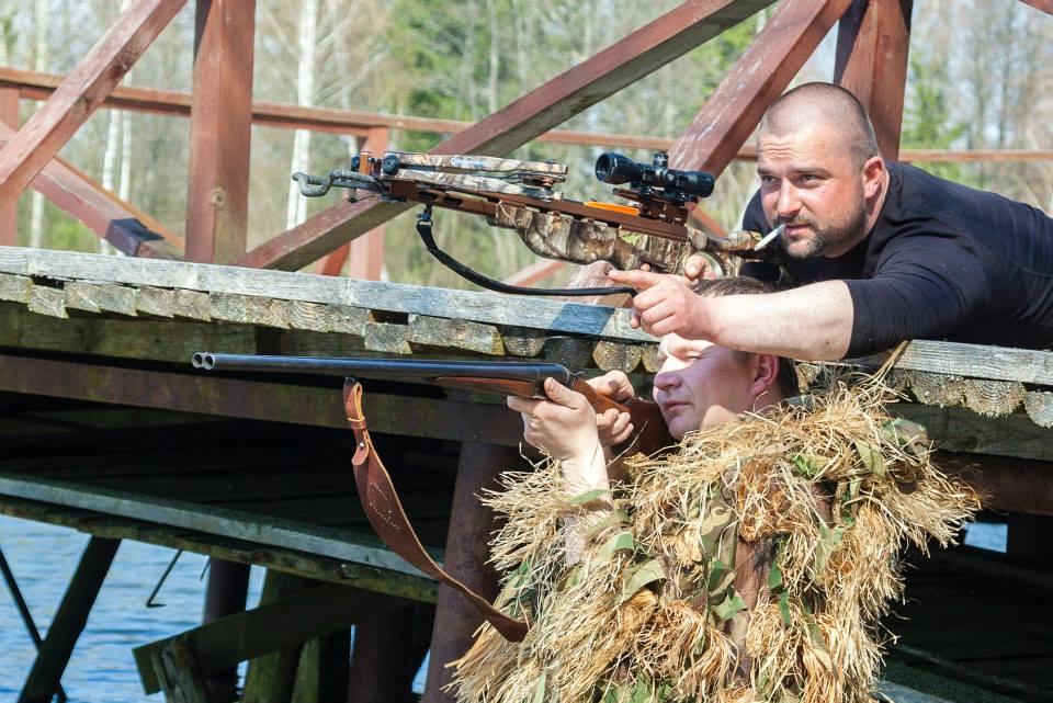 Охота с луком и арбалетом в Беларуси